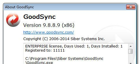 GoodSync Enterprise v9.9.16.9 官方中文注册版
