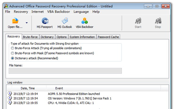 advanced office password recovery pro