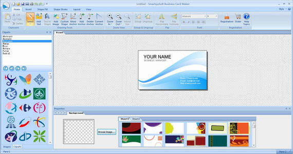 SmartsysSoft Business Card Maker